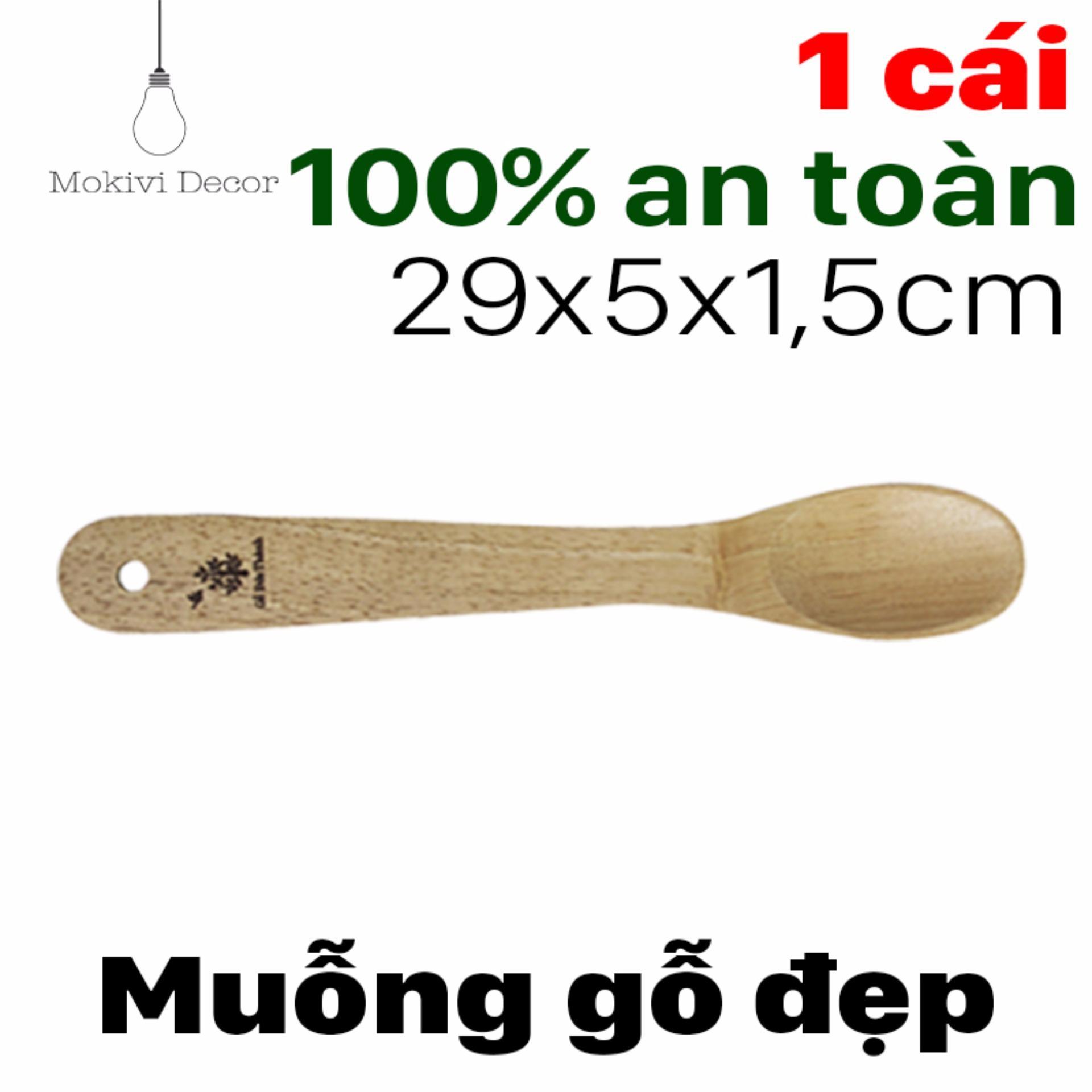 Giá KM Vá gỗ múc canh – muỗng gỗ ăn cơm trộn – vá gỗ chiên xào