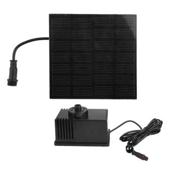 NEGA Motor Solar Panel Power Fountain Pump Kit Pool Pond Submersible - intl