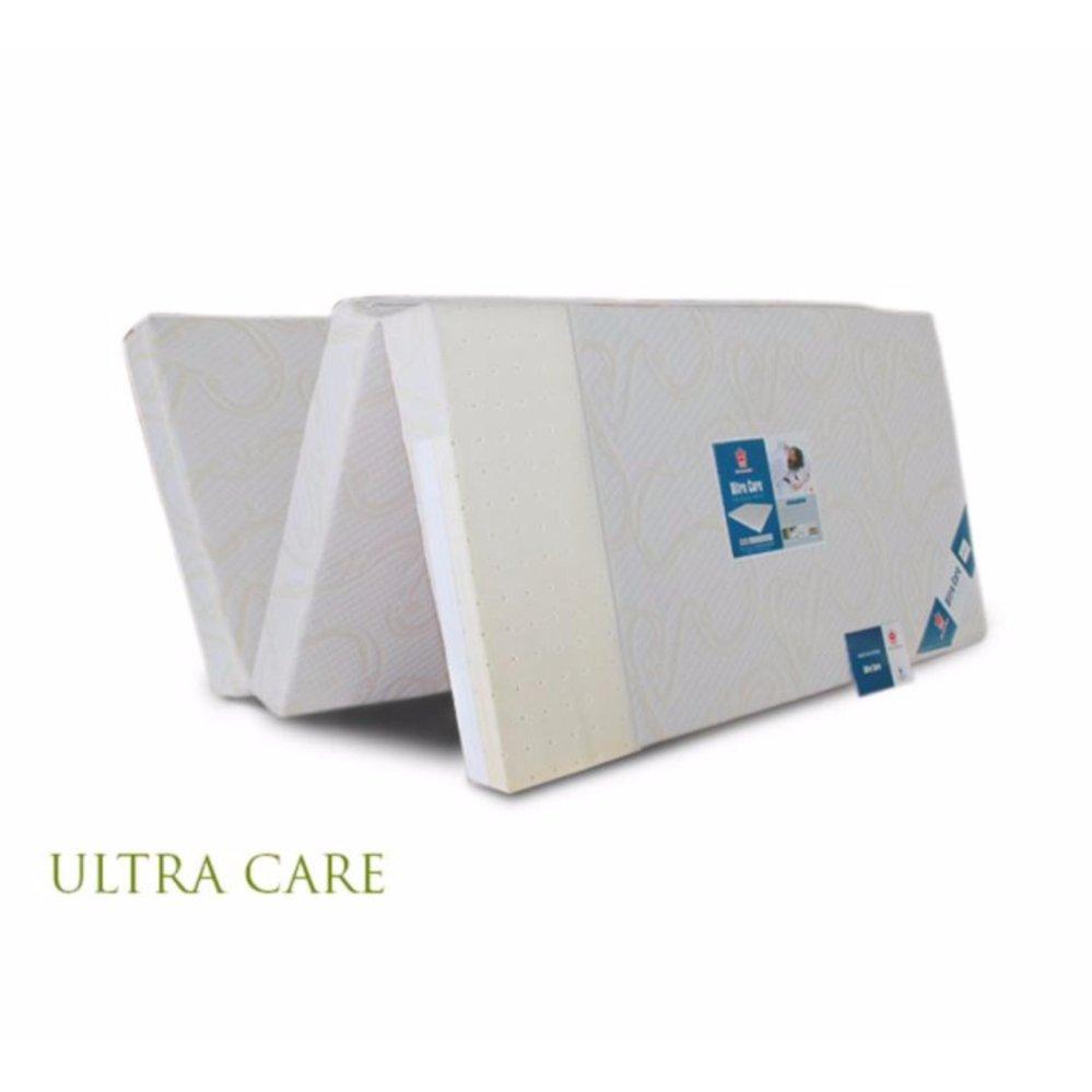 Nệm cao su gòn ép Vạn Thành Ultra care gấp 3 size 155x195x3cm