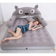 Giường hơi cao cấp kèm bơm điện (Xám) – Kmart