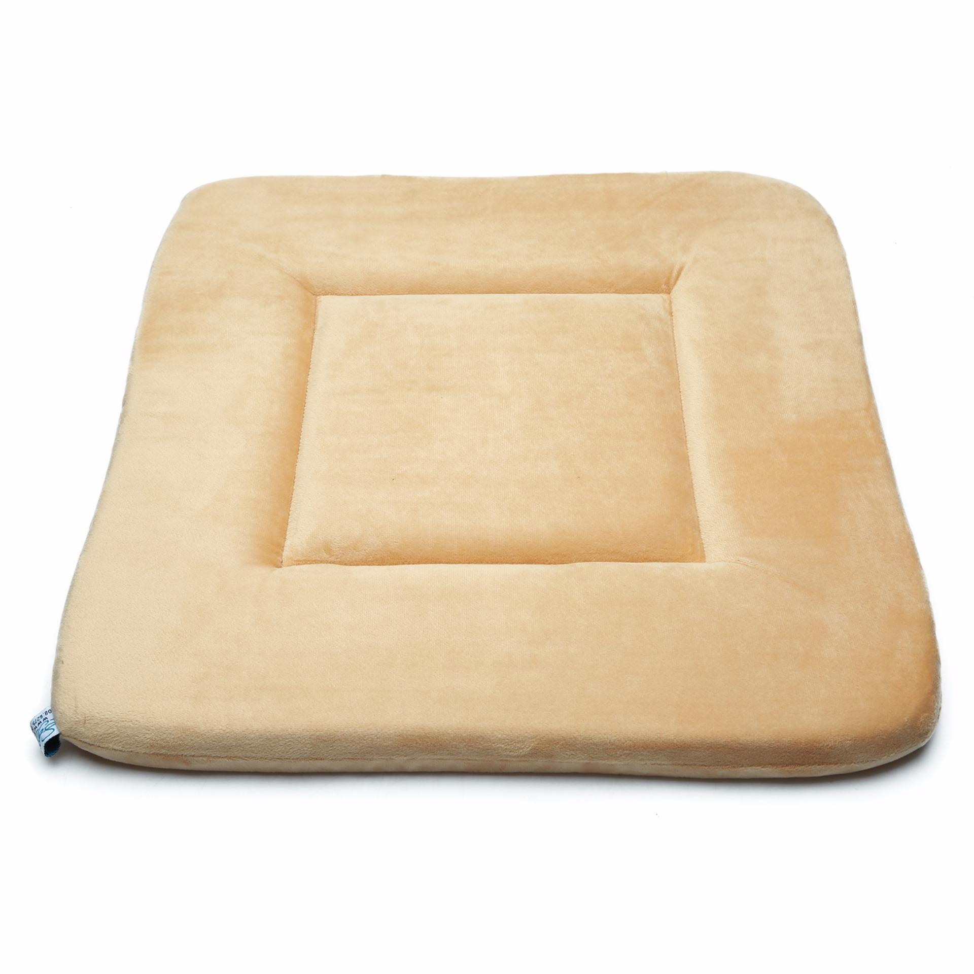 Nệm ngồi Cow Velvet Seat Pad (Cà phê sữa)