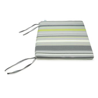 Nệm ngồi Soft Decor 405 Grey Stripe Pattern 40x40x5cm (Xám)