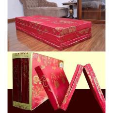 Nệm PE Siêu Nhẹ (Gấp 3) Công Nghệ Hàn Quốc 120x190x5cm