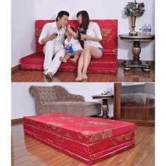 Nệm PE Siêu Nhẹ (Gấp 3) Công Nghệ Hàn Quốc 160x200x9cm