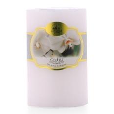 Cập Nhật Giá Nến thơm trụ tròn hương hoa lan D5H8 Miss Candle FtraMart 5x8cm FTM-NQMD5H8 (Trắng)