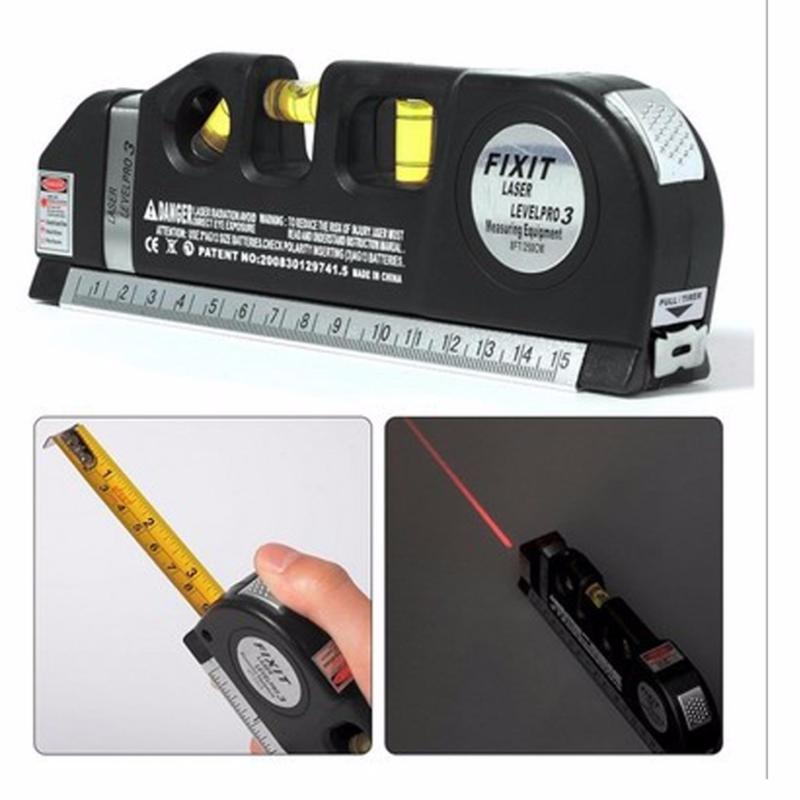 Ni vô cân mực 2 tia laser dọc - ngang LV-03