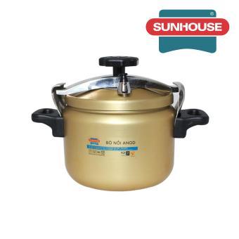 Nồi áp suất Anod Sunhouse SHA8604 6L (Vàng)