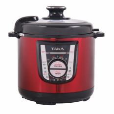 Nồi áp suất Taka TKE258 6L (Đỏ)