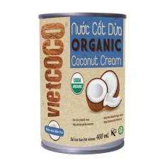 Nước cốt dừa organic Vietcoco 400ml