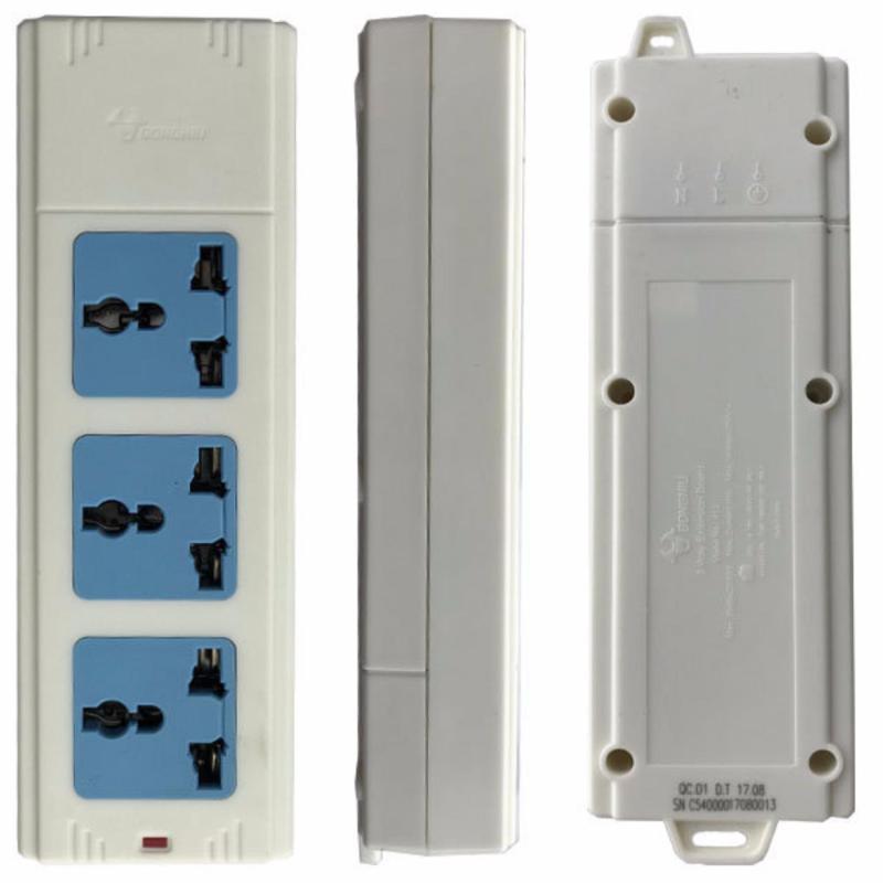 Bảng giá Mua Ổ cắm điện 3 socket đa năng Gongniu 413