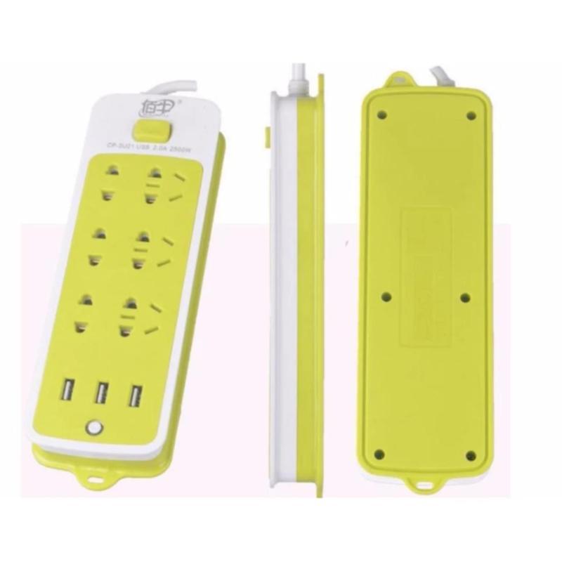 Bảng giá Mua Ổ cắm điện 6 lỗ có cổng sạc USB đa năng