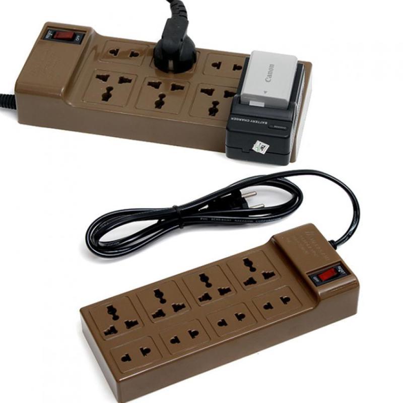 Bảng giá Mua Ổ cắm điện 8 lỗ dây 3m Nakagami NAKA