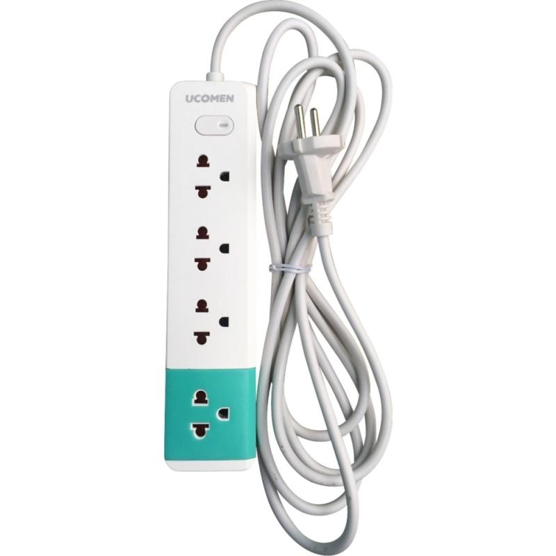 Bảng giá Mua Ổ cắm điện an toàn 4 lỗ thông dụng Ucomen (Dây 3m)
