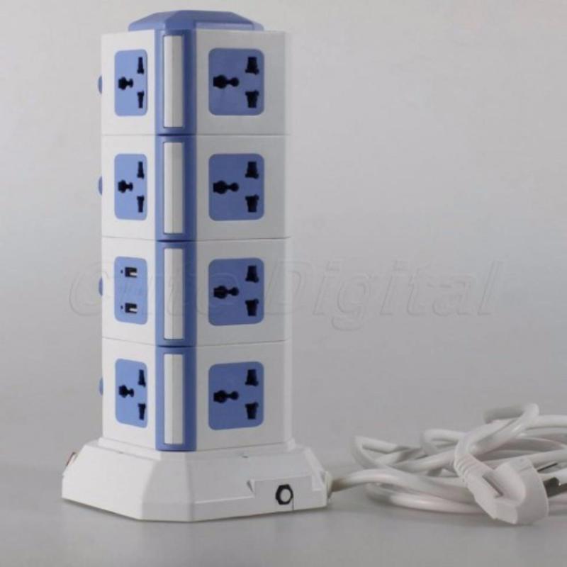 Bảng giá Ổ cắm điện đa năng 4 tầng tích hợp cổng cắm USB( màu ngẫu nhiên )