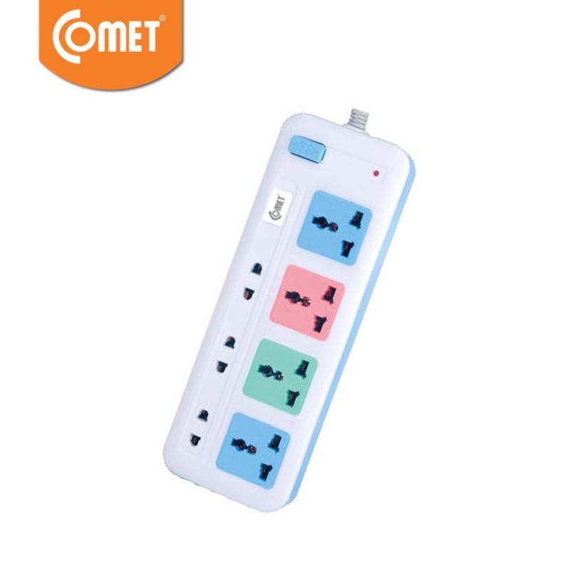 Bảng giá Mua Ổ cắm điện đa năng COMET CES4433 TẶNG ĐÈN PIN LED CRT453