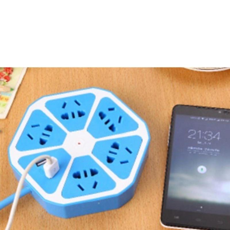 Bảng giá Ổ cắm điện đa năng kiêm 2 cổng Usb BenHome sạc Pin Smartphone  TI383 tặng khăn lau đa năng K 275