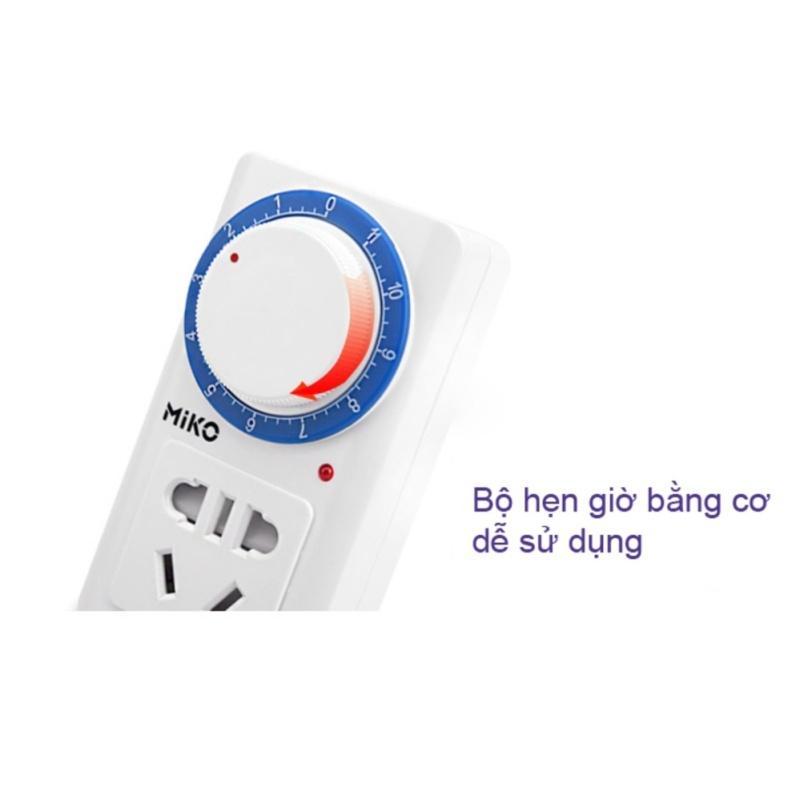 Bảng giá Mua Ổ cắm điện hẹn giờ tắt Miko tiện dụng