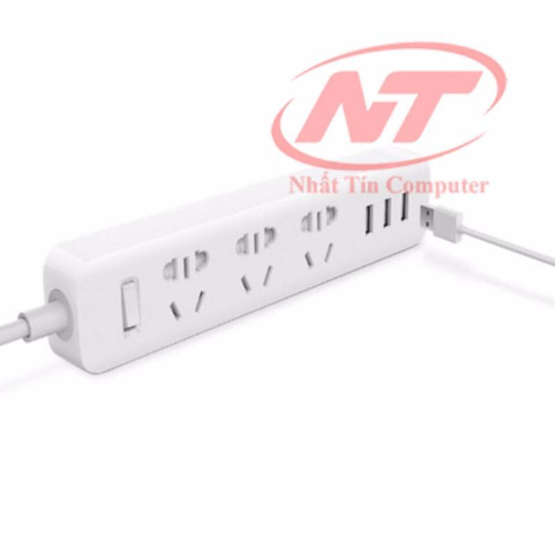 Bảng giá Mua Ổ cắm điện kiêm hub sạc Pisen 303 - 3 cổng USB (trắng)