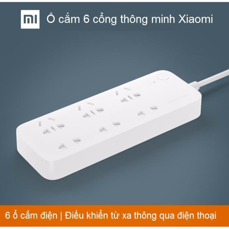 Bảng giá Mua Ổ cắm điện thông minh Xiaomi 6 ổ cắm điều khiển qua SmartPhone