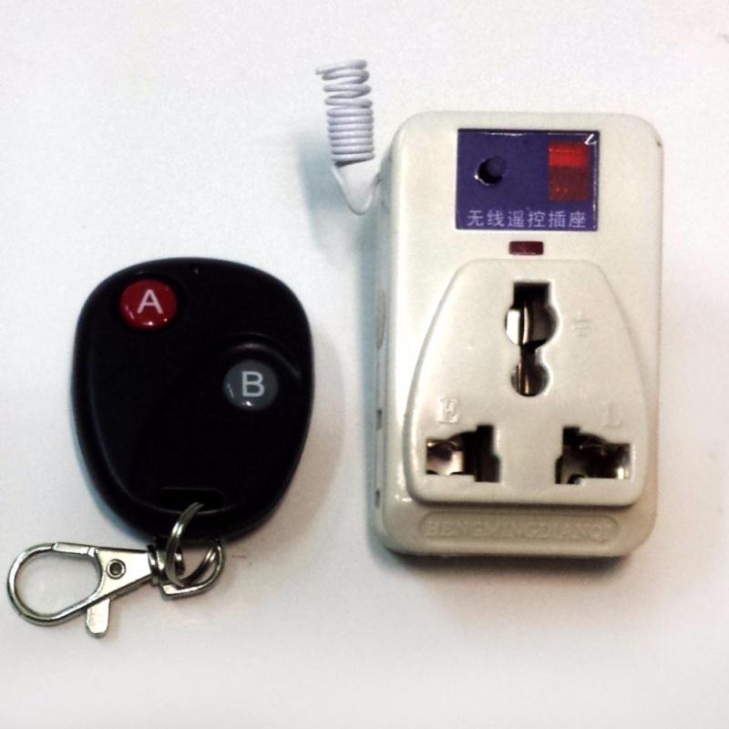 Bảng giá Mua Ổ cắm điều khiển từ xa 500W học lệnh kèm điều khiển (remote) bằng sóng Radio RF