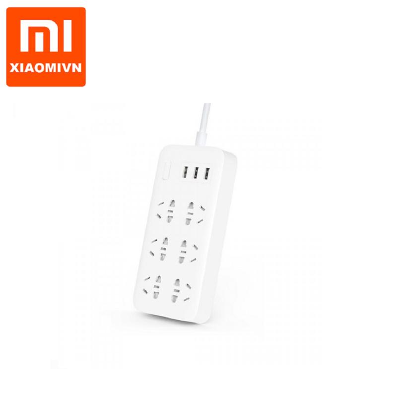 Bảng giá Ổ cắm Xiaomi power strip 6 đầu tích hợp 3 USB