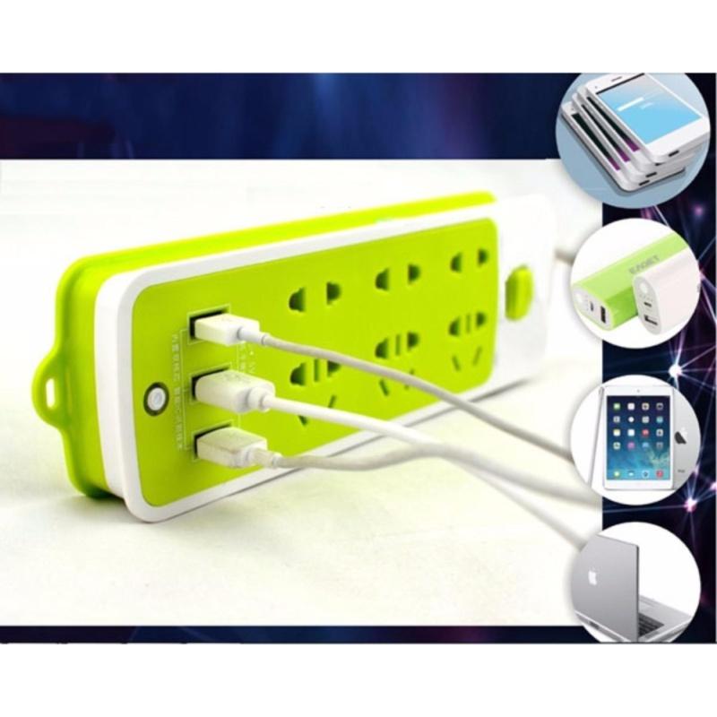 Bảng giá Ổ điện đa năng - 3 đầu cắm USB KHGR.1280