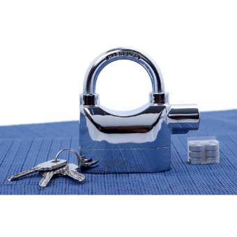 Ổ khóa báo động chống trộm 110DBA (bạc) loại ngắn an toàn - 3