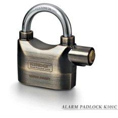 Ổ khóa báo động Kinbar (mạ Crom) K101C