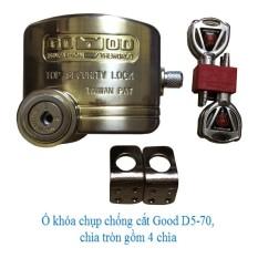 Ổ khóa cửa chống cắt toàn diện GOOD D5-70