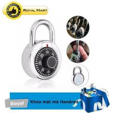 Ổ khóa mật mã chống trộm Hardened (Bạc)