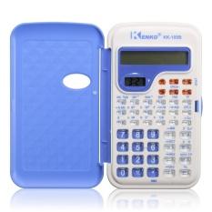 Office Mini Scientific Calculator School Student Function Calculadora Multifunctional Clock Calculator Cientifica dark blue – intl