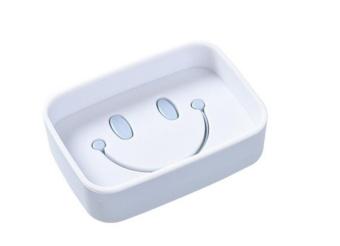OJ 素色笑脸双层皂盒 - intl