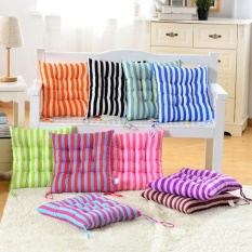 Outdoor Dining Garden Patio Home Kitchen Office Chair Seat Striped Pads Cushions Coffee - intl