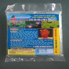 Phân bón viên nén cho hồ thủy sinh hoa sen hoa súng (24 viên màu xanh)