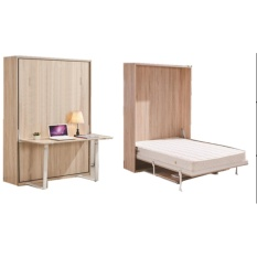 Phụ kiện giường gấp dọc kết hợp bàn học GT41(1200*2000)
