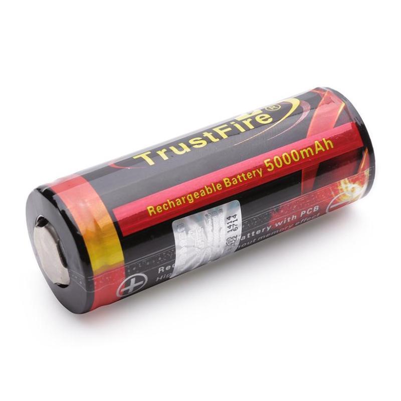 Pin 26650 TrustFire TF26650 5000mAh (Đen)