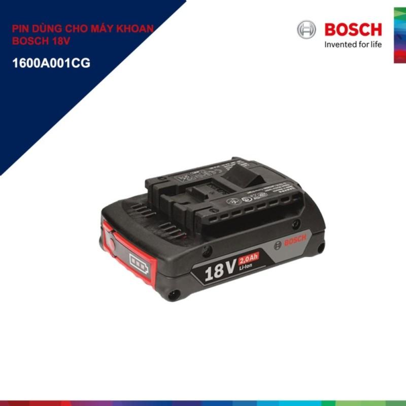 Pin dùng cho máy khoan bosch 18v Bosch GBA 18V 2.0Ah