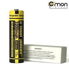 Pin sạc C'MON POWER li-ion IMR 18650 3200mAh 15A 3.7V (chuyên dùng cho đèn pin siêu sáng, VAPE, sạc dự phòng, quạt mini… – vàng)
