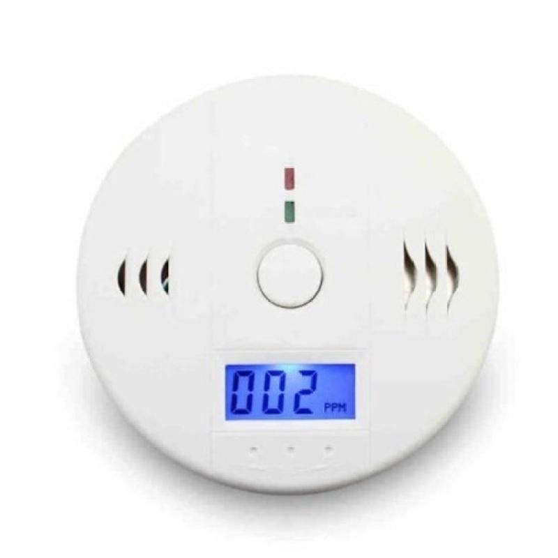 Bảng giá Mua Portable Household LCD Digital Carbon Monoxide DetectorAlarmCODetector CO Alarm (White) - intl