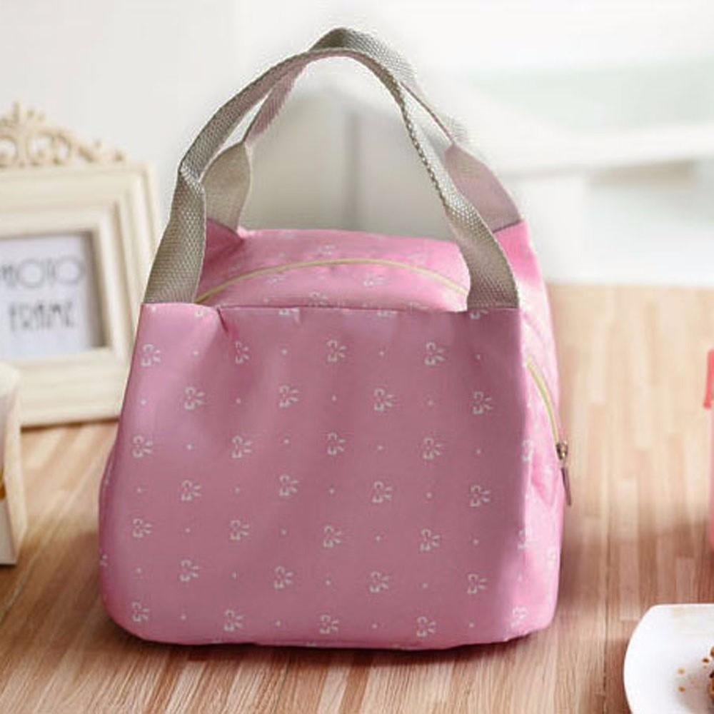 ... Portable Lunch Bag Tote Picnic Insulated Cooler Zipper Organizer Lunch Box HOT - intl ...
