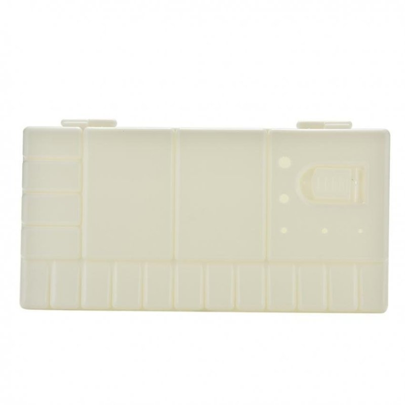 Mua Portable White 33 Grids L Size Artist Oil Watercolor Plastic Palette Art Paint Tray - intl