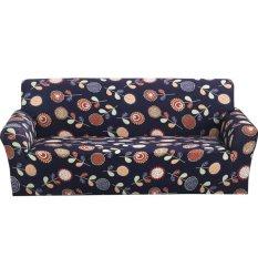 Printed Sofa Cover Spandex Stretch Cloth Art Slipcover – intl