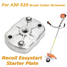 Recoil Easystart Starter Plate Double Pawl Assembly for Brush Cutter Trimmers - intl