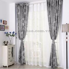 Đánh Giá Rèm cửa đơn khoen Miss Curtain 135x160cm (523-Grey)   MISS_CURTAIN