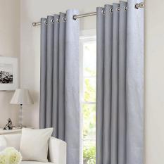 Giá Sốc Rèm cửa đơn khoen Miss Curtain 135x160cm (NG094-Gray)  MISS_CURTAIN