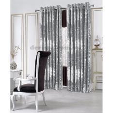 Bảng Báo Giá Rèm cửa đơn khoen Miss Curtain 135x220cm (521-Grey)   MISS_CURTAIN