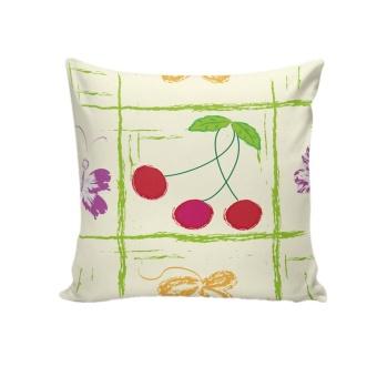 Retro Fashion Sofa Bed Home Decoration Festival Pillow Case Cushion Cover - intl