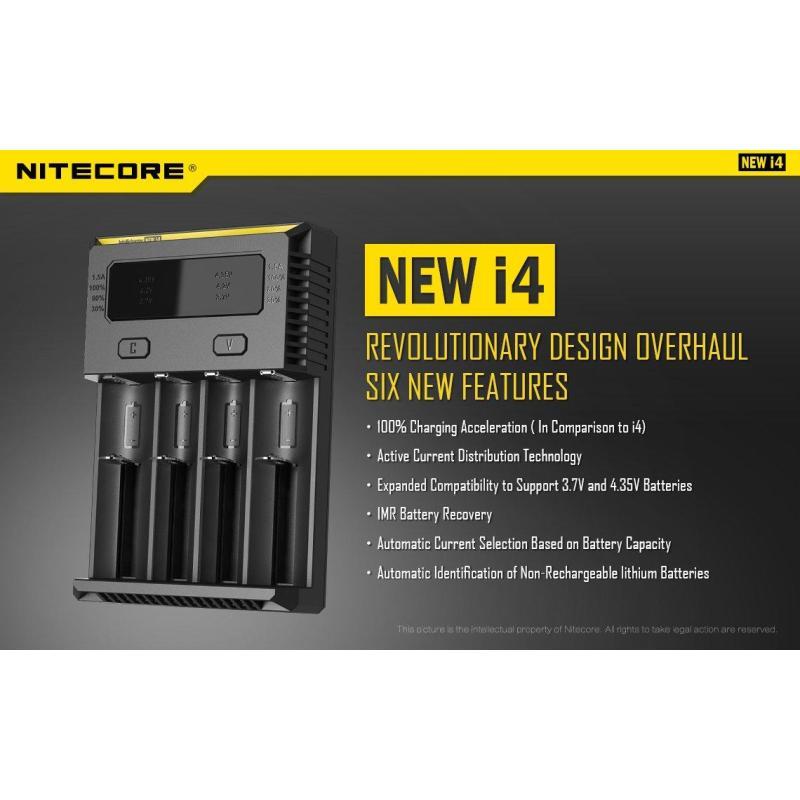 Sạc Nitecore - I4 New (Version 2016)
