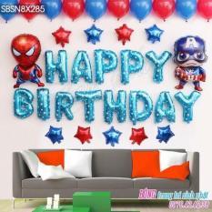 Set bóng sinh nhật người nhện