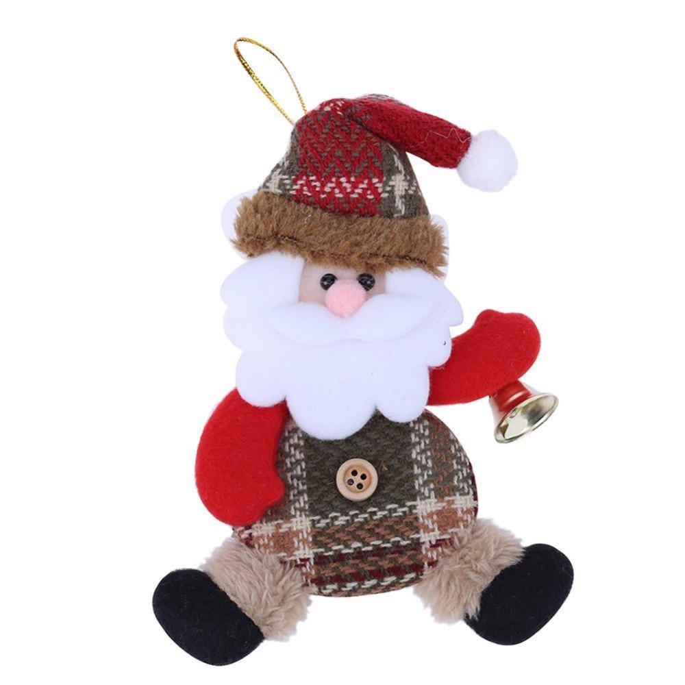 Ông Già Noel Giáng Sinh Đồ Trang Trí Cây Trang Trí (Nhiều Màu)-quốc tế